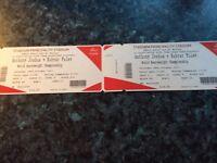 Anthony Joshua Tickets x2
