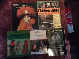 Chicken, Poultry, Bird Books For Sale