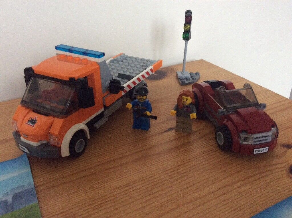 Lego City 60017 Flatbed Truck With Car In Sunderland Tyne And