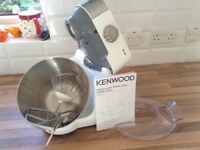 Kenwood mixer and food blender