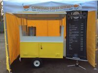 Catering trailer swap for van