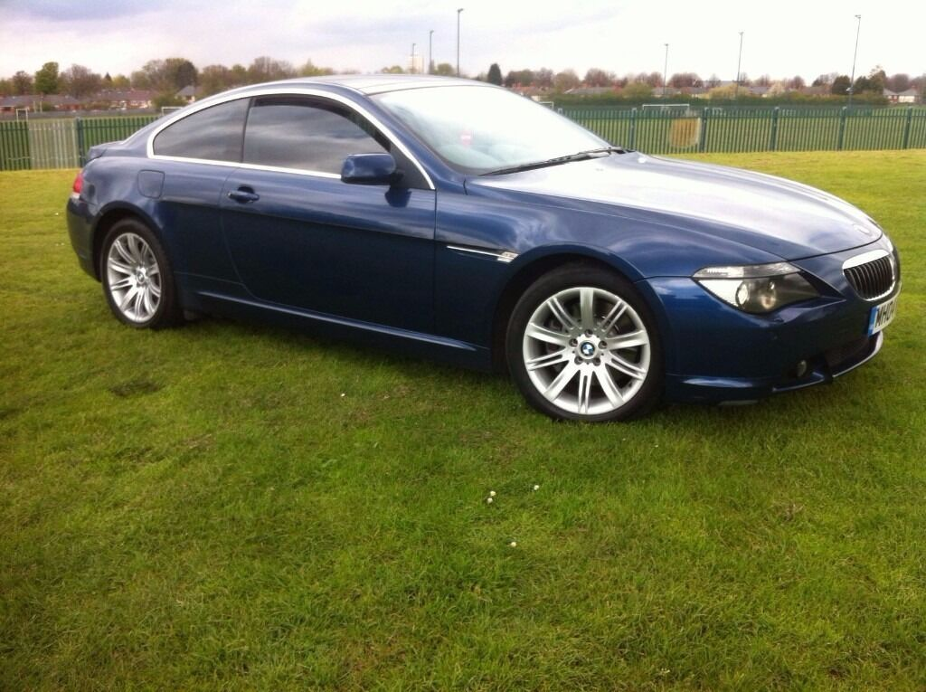 bmw 645ci blue coupe panoramic roof long mot 6 series. Black Bedroom Furniture Sets. Home Design Ideas