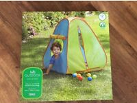 Brand New Children's Pop Up Tent For Sale