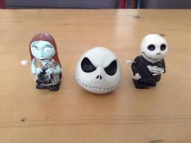 Nightmare before Christmas wind up walkers with neca stress ball