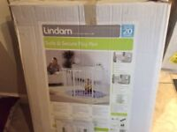 Baby's Lindam Secure and Safe Playpen