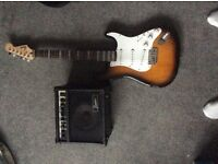 Fender bullet stratocaster and amp ( will consider swapping for a decent acoustic )