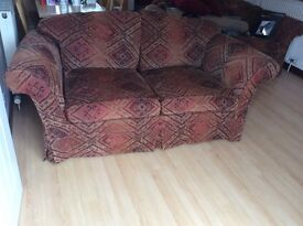 Matching pair 2 seater sofas