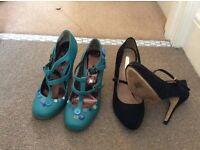 Women's size 7 heels