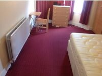 Clean double room near Plaistow station, perfect for a couple or two friends