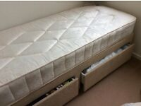 Small Single Divan Bed
