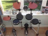 LIKE NEW ELECTRIC DRUMS SET COST 350