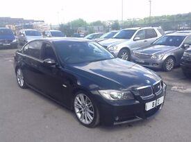 BMW 330I M SPORT 4DR SALOON++AUTOMATIC++FULL LEATHER++SAT-NAV++XENONS++SENSORS++F.S.H++LONG MOT!
