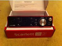 Focusrite Saffire 2i2 Second Generation (2nd Gen) *As New*