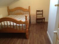 short term double room , bills included