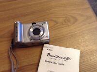 Canon power shot A80
