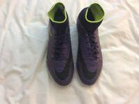 Nike Hypervenom X sock boots size 6