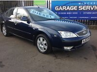 2004 FORD MONDEO SERVICE HISTORY LOW MILES YEARS MOT SPARE KEY WELL MAINTAINED HIGH SPEC,D!!!!