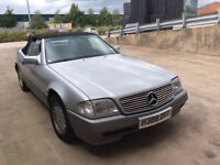 mercedes SL300 R129 AUTO LOW MILES ONLY 42200
