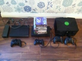 PS3, ps2, 2Xbox's and games
