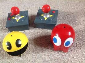 Remote Control Pacman/Ghost characters