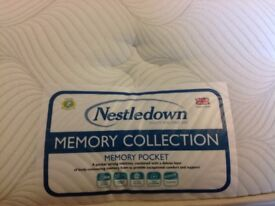 Price reduced **Never Used**Single Divan Bed - Memory Pocket Mattress