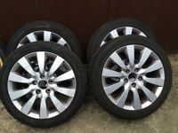 Honda Civic Wheels And Tyres 2005 - 2010 Model.