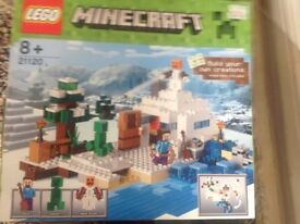 LEGO MINECRAFT 8+ new unopened from Hamleys