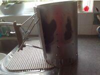 Barbecue chimney starter