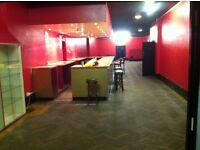 commercial premises to rent, club, bar etc