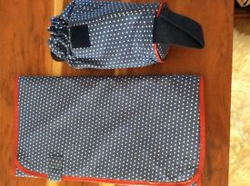 TRAVEL CHANGING MAT AND THERMAL BABY BOTTLE BAG