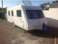 Compass omega 550 2008 caravan for sale