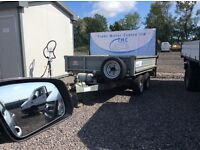 indespension tipping trailer like new 2011 8x5