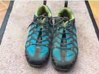 SHimano bike/outdoor walking shoes size UK 7 used but great condition