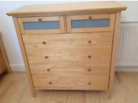 John Lewis Birch Wood Chest Of Drawers x 2. £150 ono