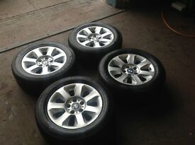 "Set of Bmw 5 Series 16"" Alloys & Tyres"