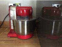 Red Bosch food mixer