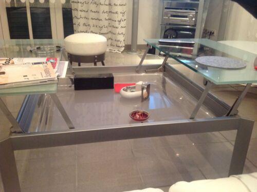designer wohnzimmer bzw esstisch aufklappbar in bayern w rzburg couchtisch gebraucht. Black Bedroom Furniture Sets. Home Design Ideas