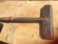 Vintage hatchet tool