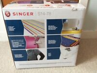 Sewing Machine, Singer Overlock S14-78, Brand New Never Used