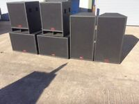 Peavey UL System in excellent condition 2 x 2x15 2x 1x18 2 x 2x15 plus hf