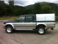 MITSIBISHI L200 4LIFE 2.5 TD PICK UP CREWCAB.