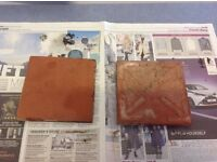 Quarry tiles - red clay