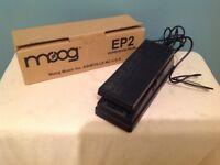 Moog EP2 expression pedal