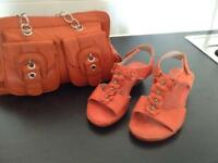 Ladies Handbag and Sandal