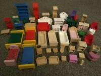 Children's Dolls Furniture