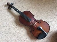 Stringers Student 4/4 full size violin outfit