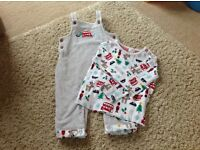 Baby Boy Christmas Outfit 6 to 9 months John Lewis