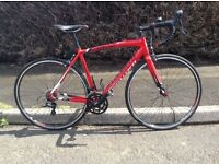 Specialized Allez sport red - road bike 52cm frame -carbon forks