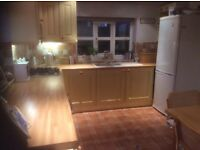 Kitchen units, work tops and appliances