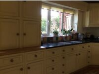 CUSTOM MADE WOODEN PAINTED KITCHEN